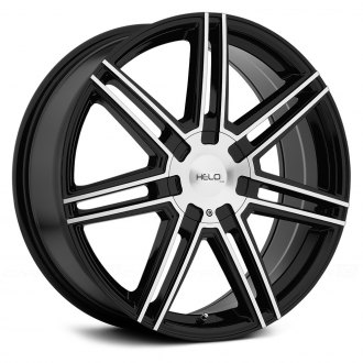 HELO® - HE884 Gloss Black with Machined Face