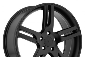 "HELO® - HE885 Satin Black (16"" x 7"", +40 Offset, 5x114.3 Bolt Pattern, 72.6mm Hub)"