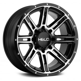 HELO® - HE900 Gloss Black with Machined Face