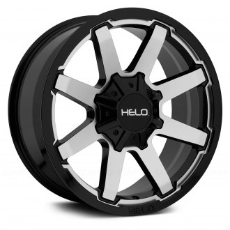 HELO® - HE909 Gloss Black with Machined Face