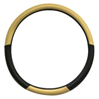 Herrero & Sons® - Two Tone Vinyl Steering Wheel Cover
