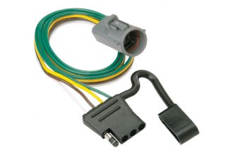 Hidden Hitch® - 4-Flat ModuLite™ Replacement OEM Tow Package Wiring Harness