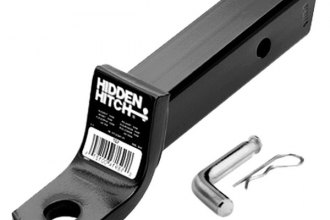 Hidden Hitch® - Class 3 / 4 Receiver Plus Ball Mount Kit for 2'' Recievers