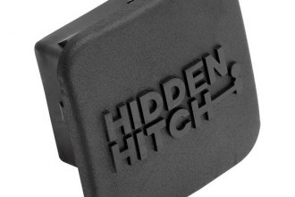 "Hidden Hitch® - Class 3 / 4 Rubber 2"" Receiver Cover with Hidden Hitch Logo"