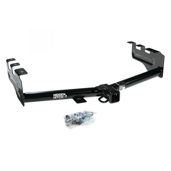 Hidden Hitch® - Class 3 / 4 Round Tube Rear Trailer Hitch with Receiver Opening