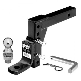 "Hidden Hitch® - Class 3 Adjustable Ball Mount for 2"" Receivers"