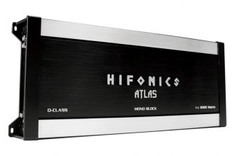 Hifonics® - Mt. Olympus Series Class D Mono 3000W RMS Amplifier