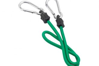 "Highland® - Carabiner Bungee Cord (32"" Green)"