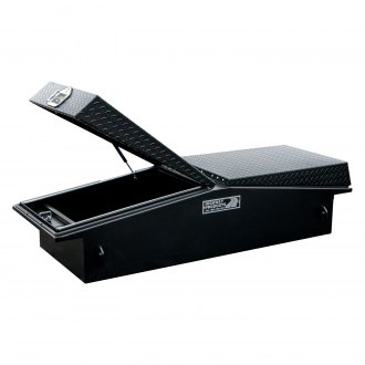 Highway Products® - Dual Lid Gull Wing Crossover Tool Box with Rope Hooks