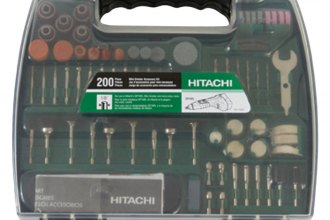 Hitachi® - 200-Piece Mini Grinder Accessory Set