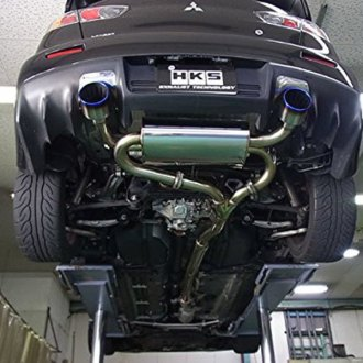 hks 304 ss turbo cat back exhaust system
