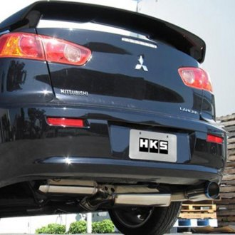 HKS® - Hi-Power Series 304 SS Axle-Back Exhaust System with Sound Resonator