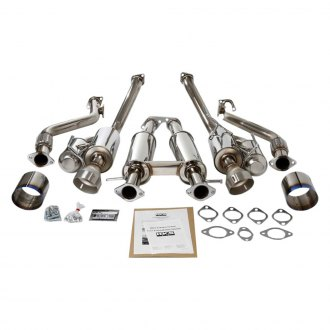 HKS® - 304 SS Full Dual Series Cat Back Exhaust System