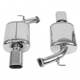 HKS® - Legamax Series™ 304 SS Dual Rear Section Exhaust System with Split Rear Exit