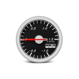 HKS® - In-Dash Black Face Direct Bright Gauge