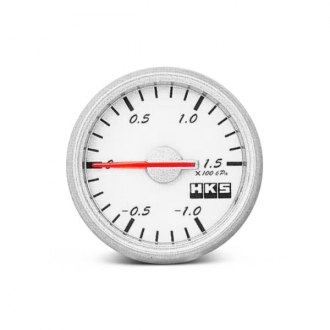 HKS® - In-Dash White Face Direct Bright Gauge