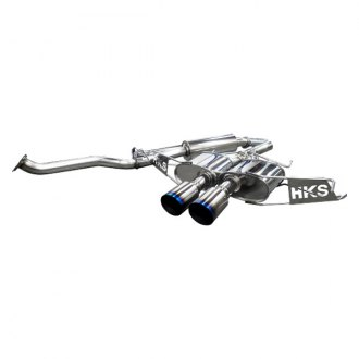 HKS® - Legamax Premium Series™ 304 SS Cat-Back Exhaust System with Dual Rear Exit