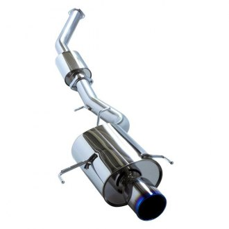 HKS® - Super Turbo Series™ Cat-Back Exhaust System with Single Rear Exit