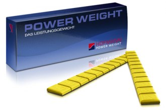 Hofmann® - 380 Type Zinc Adhesive Weights Box (Yellow)