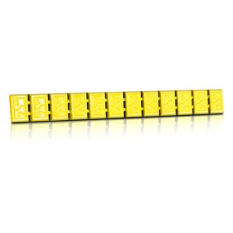 Hofmann® - 380 Type Zinc Adhesive Weights Strip (Yellow)