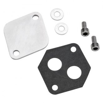 Holley® - IAC Block-Off Plate for Ford Throttle Bodies