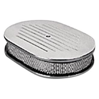 Holley® - Oval White Air Cleaner Assembly