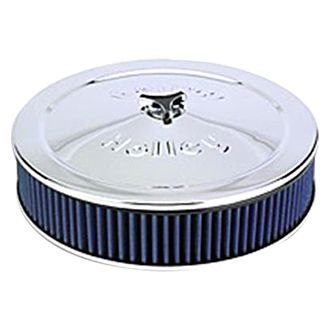 "Holley® - Power Shot Round Blue Air Cleaner Assembly (14"")"