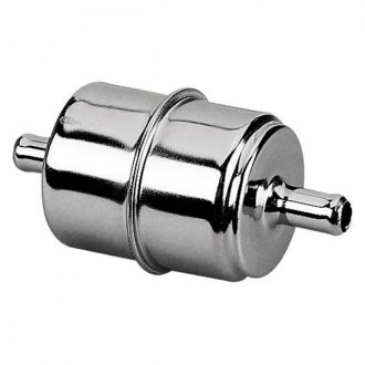 Holley® - Chrome Fuel Filter