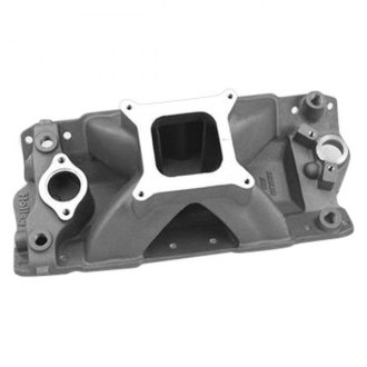 Holley® - Keith Dorton Series High Rise Satin Carbureted Cast Single Plane Intake Manifold