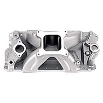 Holley® - Strip Dominator High Rise Satin Carbureted Cast Single Plane Intake Manifold