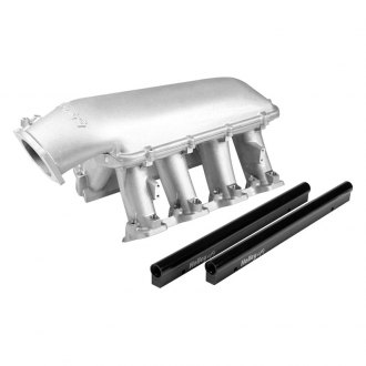 Holley® - Hi-Ram Modular EFI Cast Intake Manifold with Longitudinal Mount Plenum
