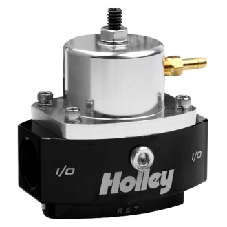 Holley® - Adjustable Billet By-Pass Carbureted Fuel Pressure Regulator