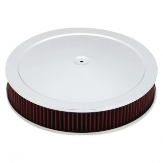 Holley® - 4500 Drop-Base Round Steel Air Cleaner Assembly