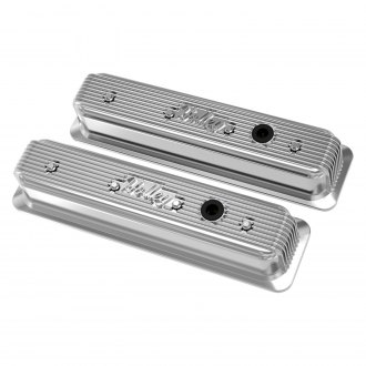 Holley® - Finned Polished Valve Cover