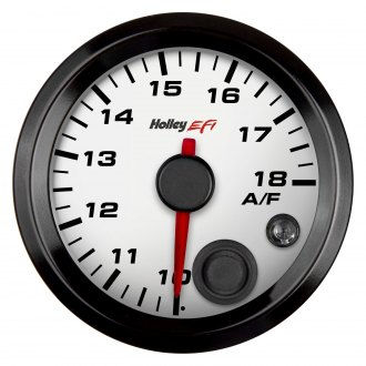 "Holley® - 2-1/16"" White Air/Fuel Right Gauge"