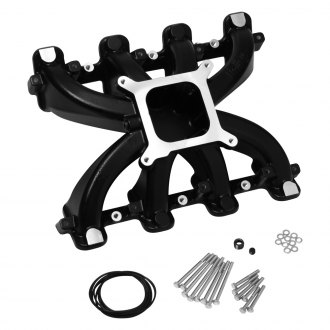 Holley® - Single Plane Black Intake Manifold