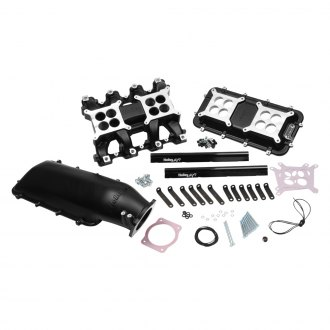 Holley® - Mid-Rise Dual Plane Carburated Manifold Kit