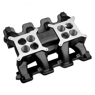 Holley® - Mid Rise Dual Plane 2x4160 Intake Manifold