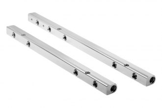 Holley® - Stainless Steel Fuel Rail Crossover Chevrolet Big Block V8