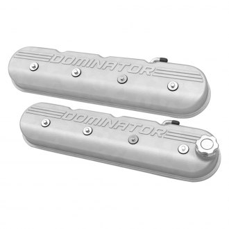 Holley® - Tall Valve Covers with Dominator