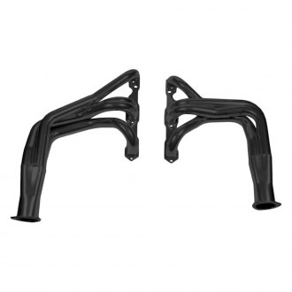 Hooker® - Super Competition™ Mild Steel Black Painted Long Tube Exhaust Headers