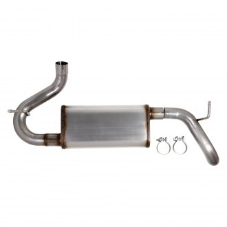 Hooker® - BlackHeart™ Stainless Steel Axle-Back Exhaust System
