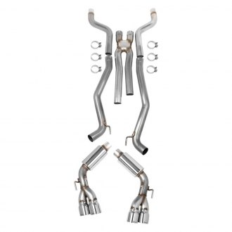 Hooker® - BlackHeart™ 304 SS Cat-Back Exhaust System