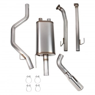 Hooker® - BlackHeart™ Stainless Steel Cat-Back Exhaust System with Single Side Exit