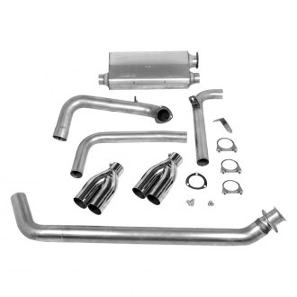 Hooker® - Super Competition™ Cat-Back Exhaust System with Quad Rear Exit