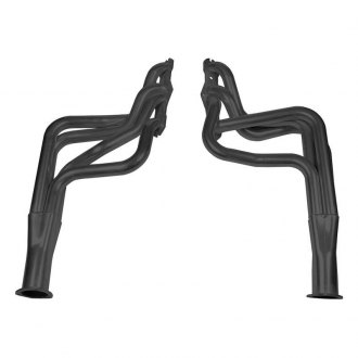 Hooker® - Super Competition™ Steel Black Painted Long Tube Exhaust Headers