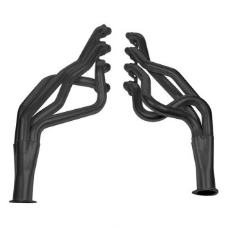 Hooker® - Super Competition™ Steel Black Painted Full Length Exhaust Headers