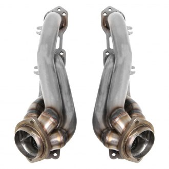 Hooker® - BlackHeart™ Stainless Steel Short Tube Exhaust Headers