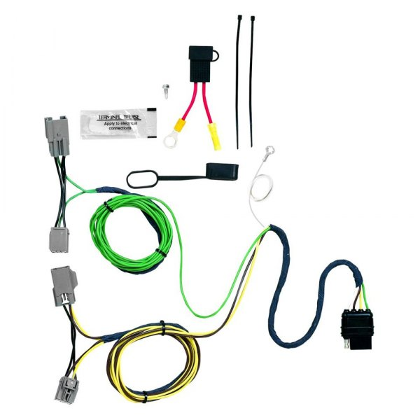 174 ford taurus 2008 2009 in simple 174 towing wiring harness with 4 flat connector