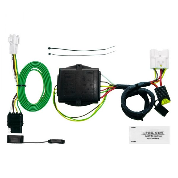 Trailer Wiring Harness Plug Covers : Hopkins toyota highlander  plug in simple